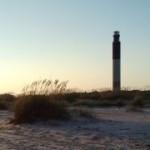 The Oak Island Lighthouse in North Carolina
